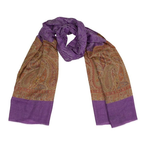 Vlněný šátek Shirin Sehan Lorena Viola