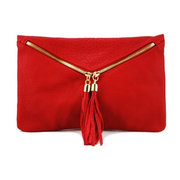 Kožená kabelka Coco Cervo/Rosso