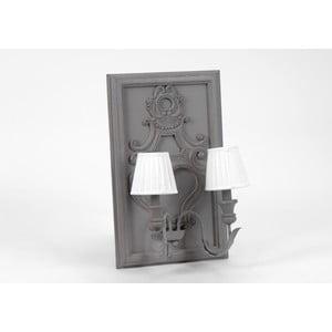 Nástěnná dvojitá lampa Antoine