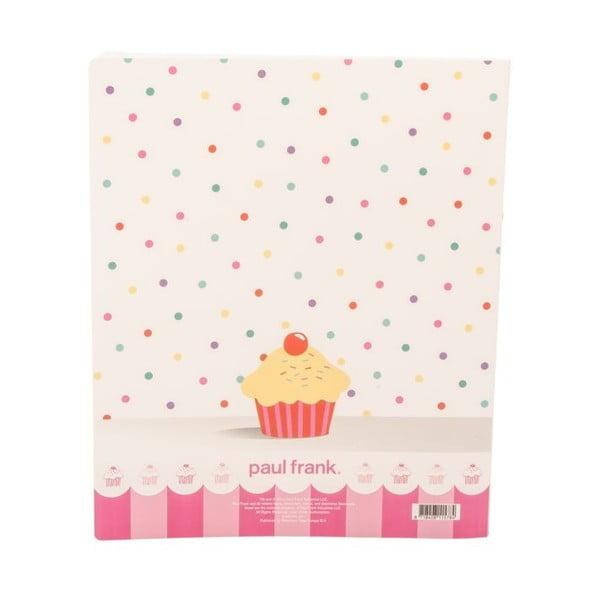 Pořadač Paul Frank I Love Cupcakes
