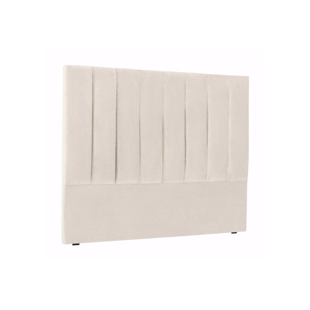 Krémově bílé čelo postele Cosmopolitan Design Los Angeles, šířka 180cm Cosmopolitan design