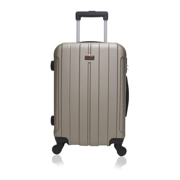 Cestovní kufr ve zlaté barvě na kolečkách Hero Fogo, 60 l