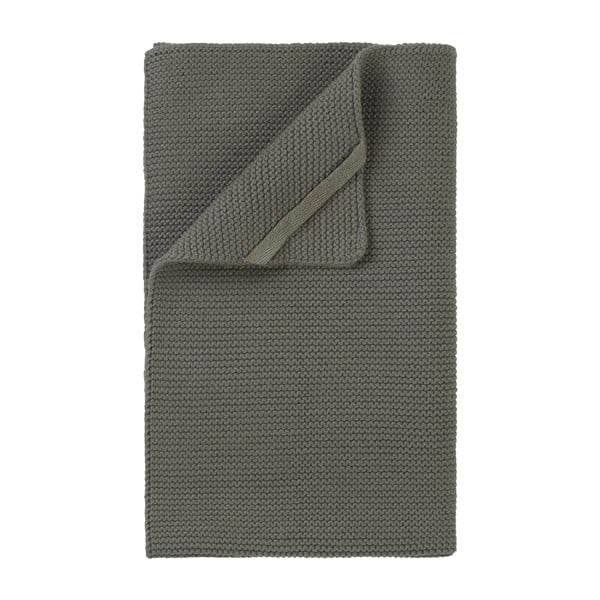 Khaki zelená pletená utěrka Blomus Wipe, 55x32cm