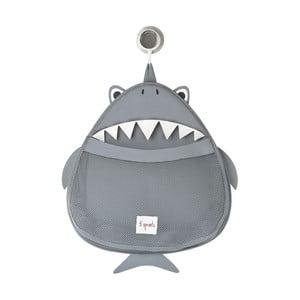 Koš na hračky a věci do koupelny Sprouts se žralokem