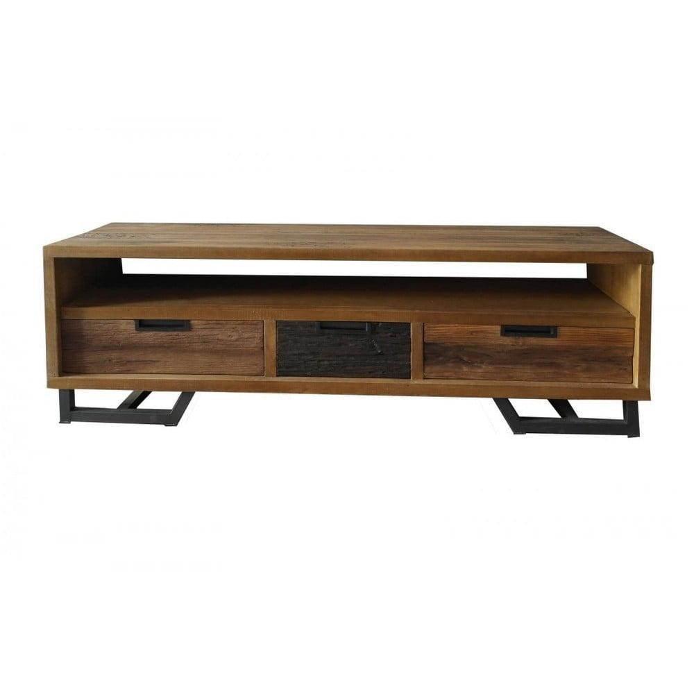 Teakový televizní stolek SOB Naomi