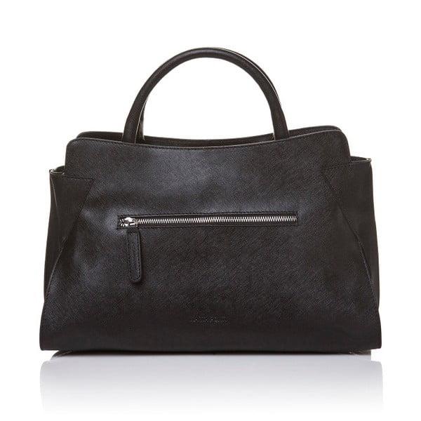 Kožená kabelka do ruky Marta Ponti Noir, černá