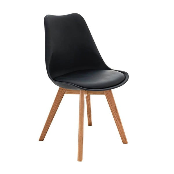 Židle Carisse, černá