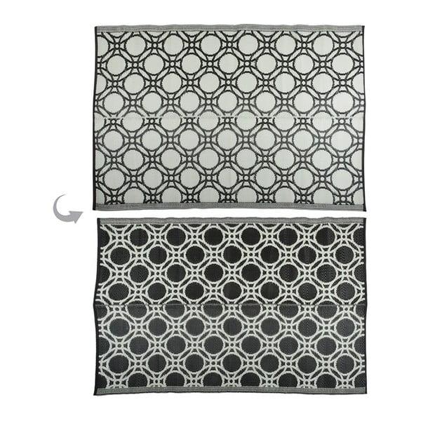 Oboustranný venkovní koberec Esschert Design Ellipse, 121x174cm