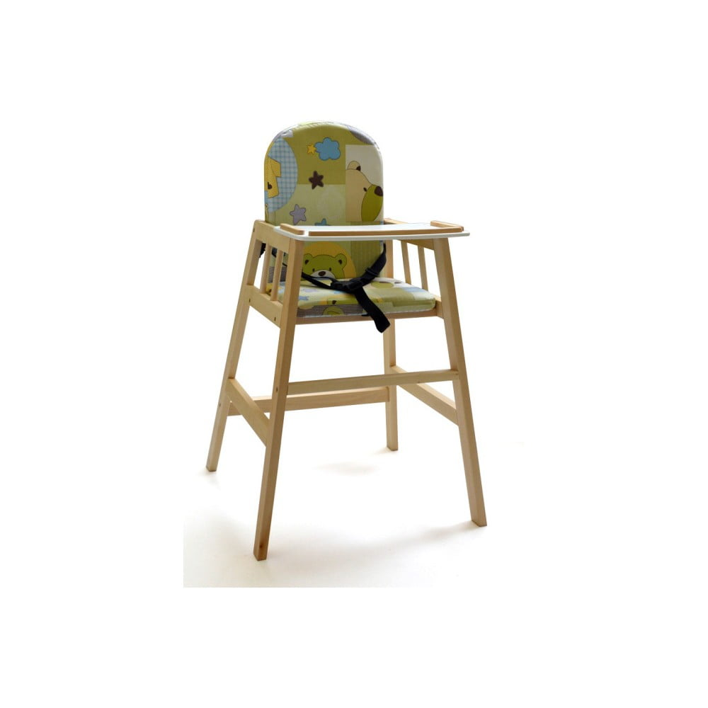Přírodní dětská jídelní židlička Faktum Abigel
