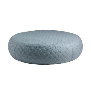 Modrý puf sømcasa Aldo, ø 100 cm