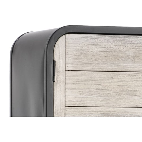 Skříň Metal Modern, 40x35x160 cm