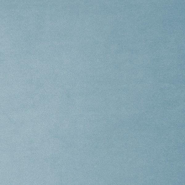 Nebesky modrá třímístná modulová pohovka s podnožkou Vivonita Velvet Cube