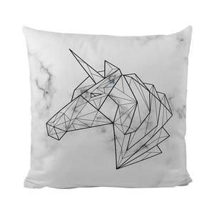 Pernă Butter Kings Unicorn On Marble, 50 x 50 cm