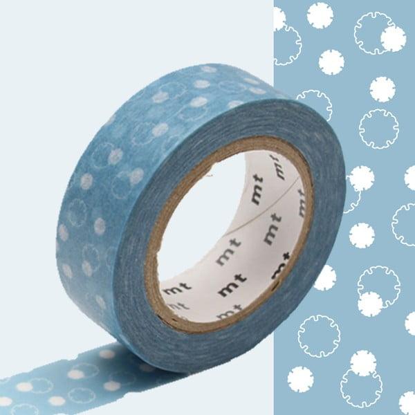 Taśma dekoracyjna washi MT Masking Tape Severin, dł.10m