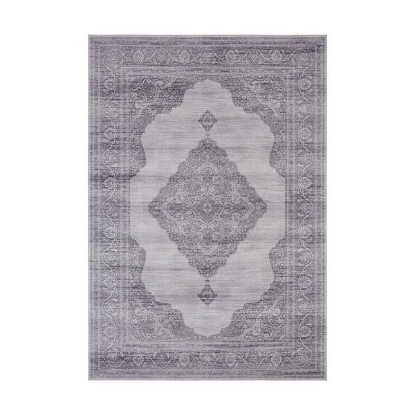 Covor Nouristan Carme, 200 x 290 cm, gri deschis