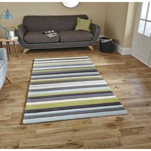 Modrozelený koberec Think Rugs Hong Kong Blue Green, 120x170cm