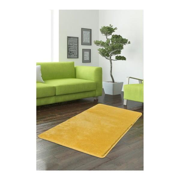 Żółty dywan Milano, 140x80 cm