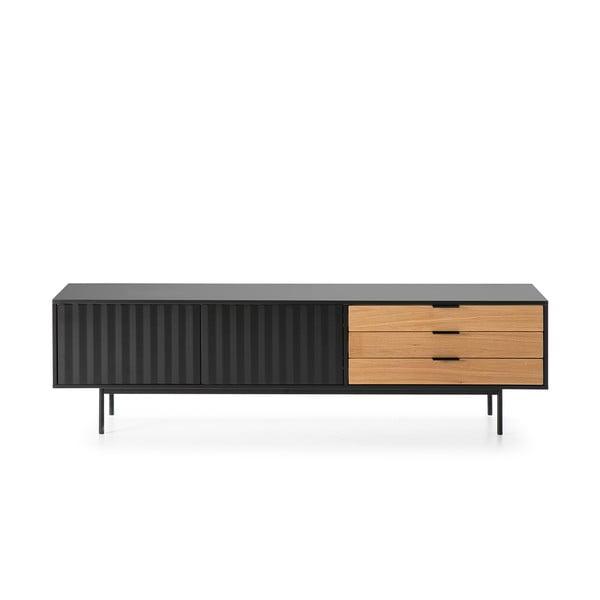 Czarno-brązowy stolik pod TV Teulat Sierra
