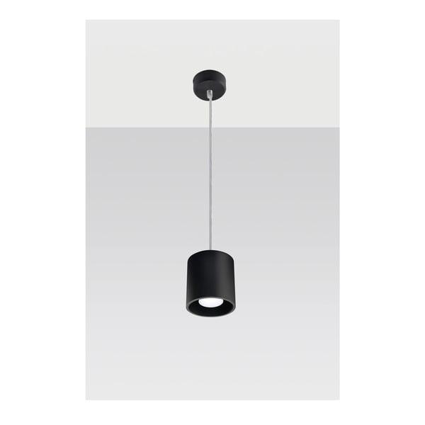 Černé závěsné světlo Nice Lamps Roda1