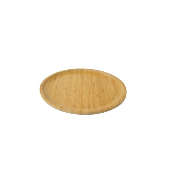 Tavă servire din bambus Bambum Penne, ⌀ 28 cm