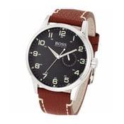 Pánské hodinky s koženým řemínkem Hugo Boss Joyce