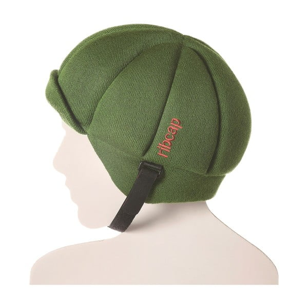Čepice s ochrannými prvky Ribcap Jackson Green, vel. M