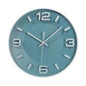 Modré nástěnné hodiny Ixia