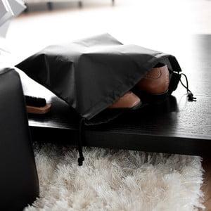 Set 2 saci pentru încălțăminte Compactor Bags, negru