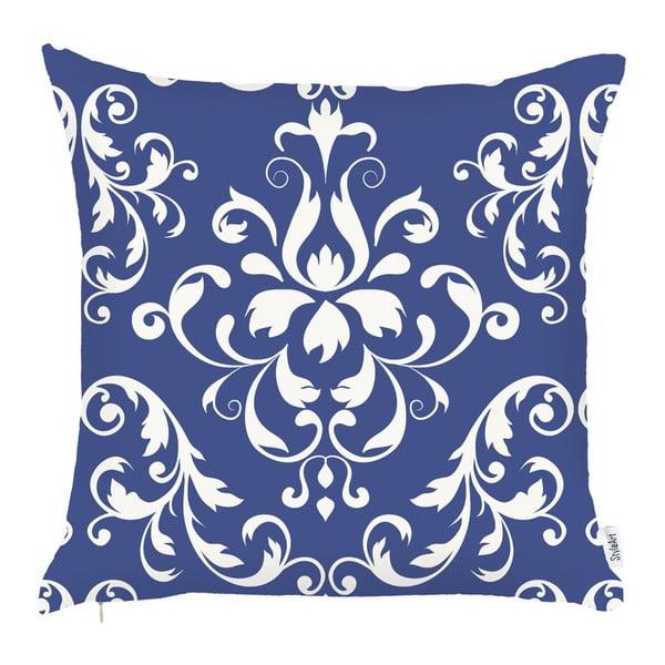 Față de pernă Apolena Ornament, 43 x 43 cm, albastru
