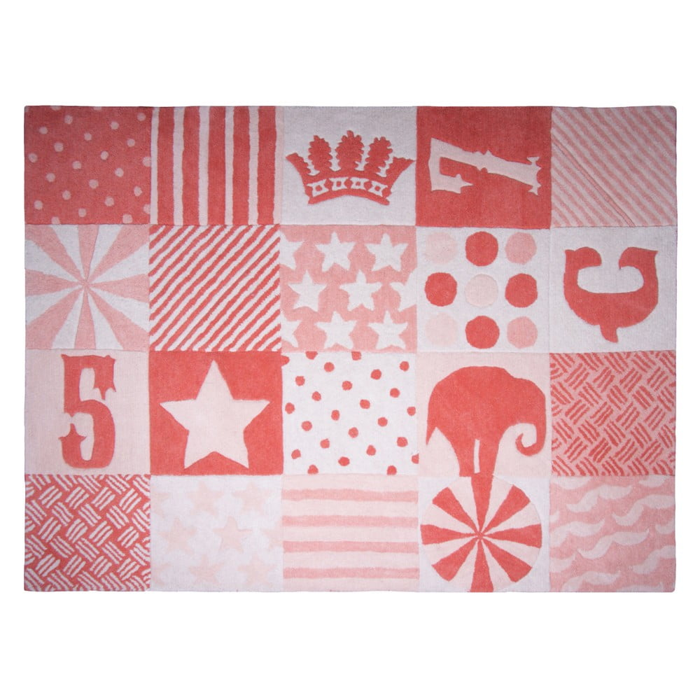 Dětský koberec Nattiot Lady Circus, 130 x 180 cm