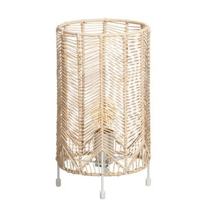 Stolní lampa Ixia Natural Stacie, výška30,5cm