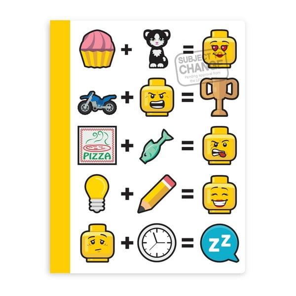Sešit v tvrdých deskách LEGO® Iconic
