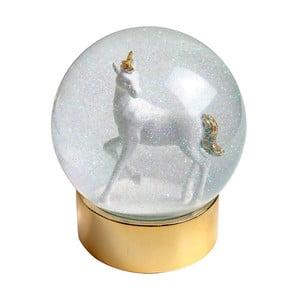 Glob cu zăpadă Talking Tables Unicorn