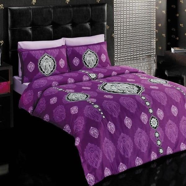 Povlečení Vals Purple, 200x220 cm