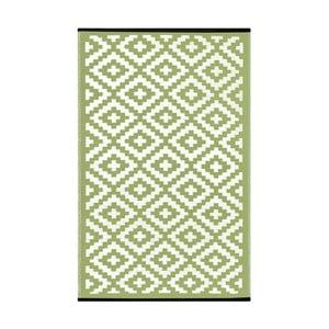 Zelený oboustranný venkovní koberec Green Decore Nirvana, 90 x 150 cm