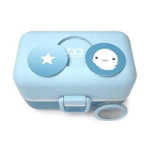 Modrý obědový box Monbento Tresor