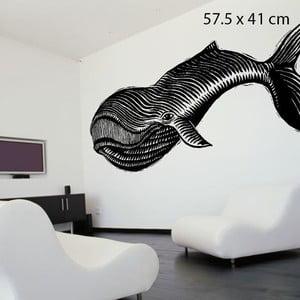 Samolepka Whale, 57x41 cm