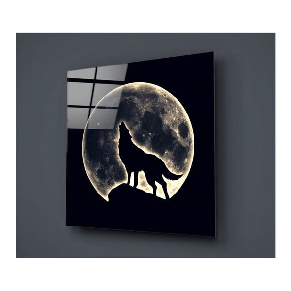 Obraz szklany Insigne Mensieto, 40x40cm