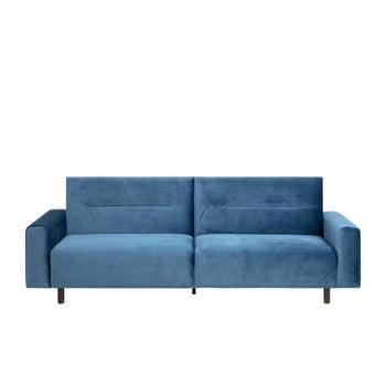 Canapea extensibilă Actona Casperia, albastru