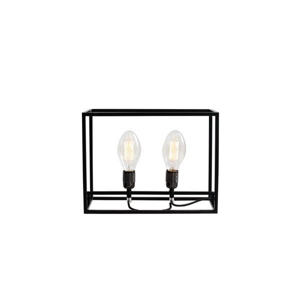 Černá stolní lampa Custom Form Metric