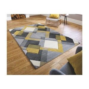 Hnědo-oranžový koberec Flair Rugs Nimbus Ochre, 160 x 230 cm