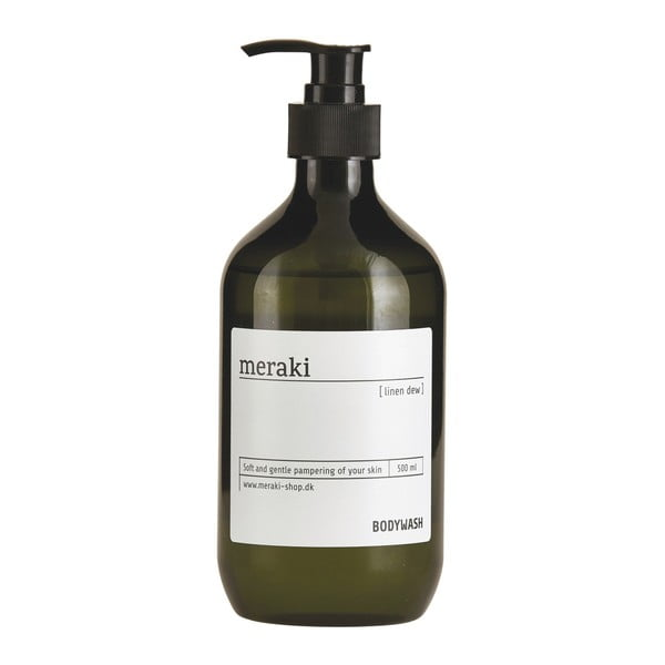 Sprchový gél Meraki Linen dew, 500ml