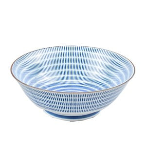 Porcelánová miska Blue Stripes, 19 cm