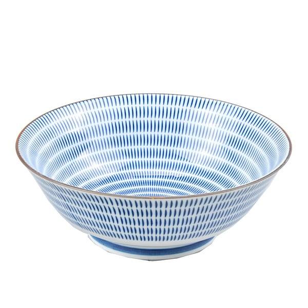Porcelánová miska Blue Stripes, 19 cm