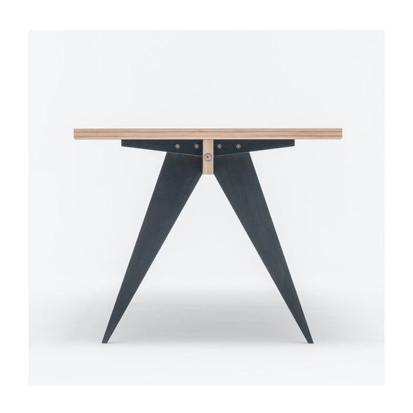 Jídelní/pracovní stůl ST, délka 180 cm, černý