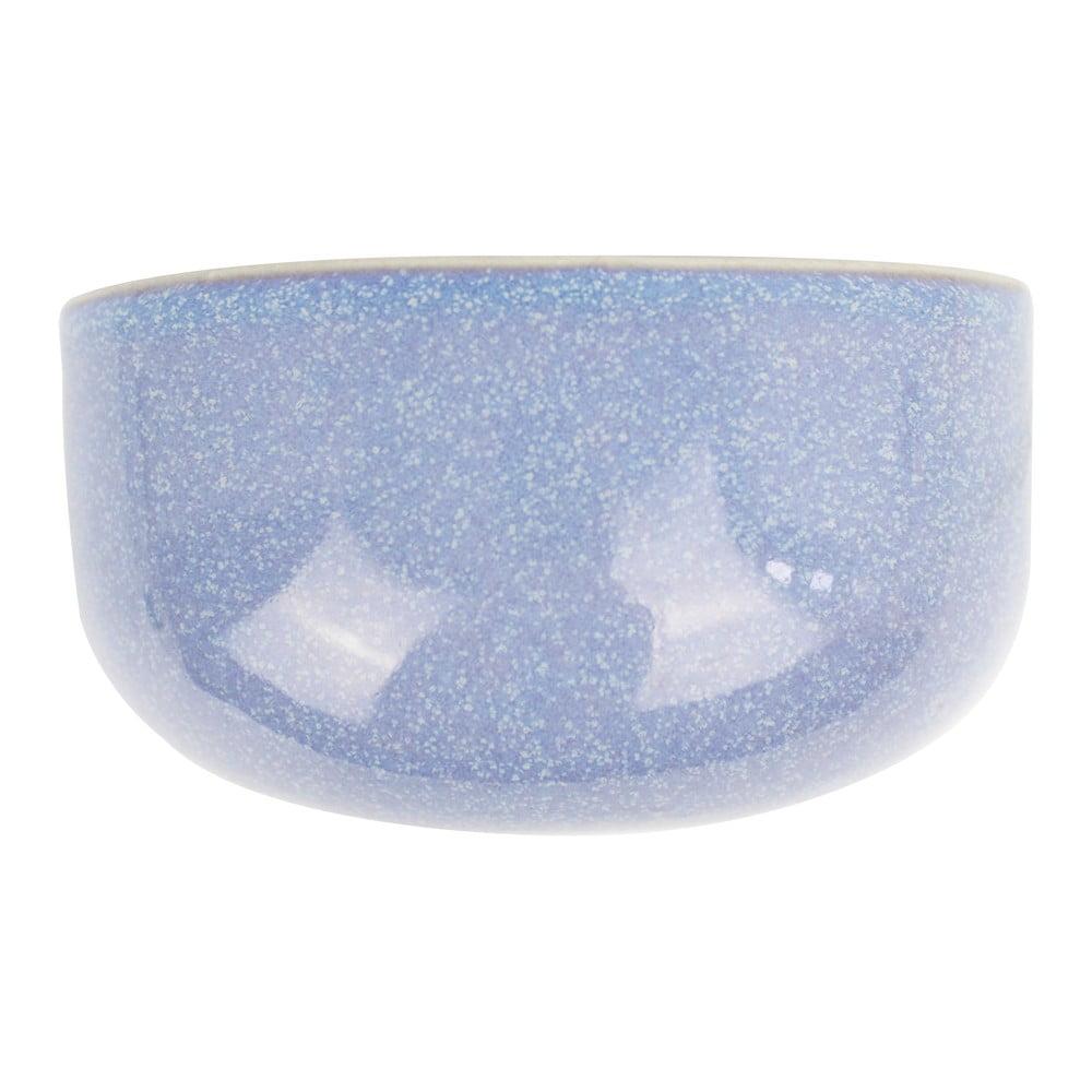 Modrý nástěnný květináč PT LIVING Oval, 20x10,8cm