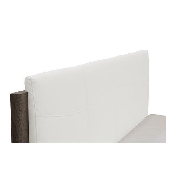 Pat dublu Mazzini Beds Dodo, 180 x 200 cm, alb