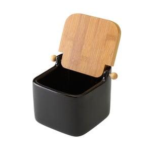 Černá keramická slánka Unimasa Modern, 750 ml