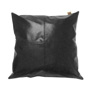 Černý polštář OVERSEAS Vintage,45x45cm