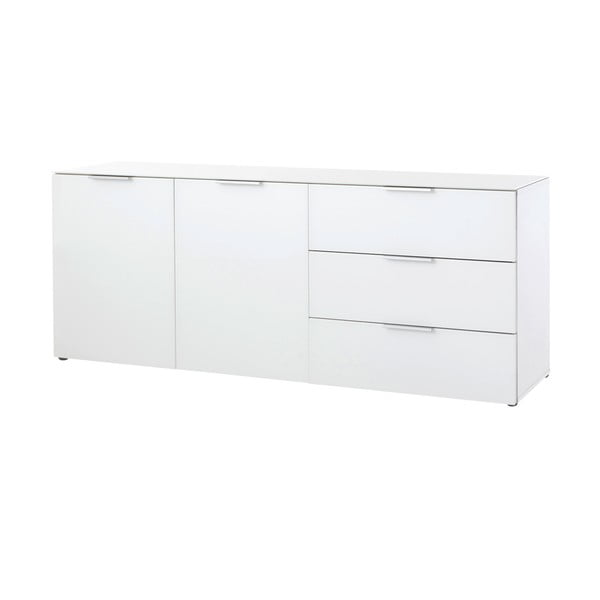 Bílá dvoudveřová komoda  Germania Larino